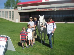 The Boys and The Horse